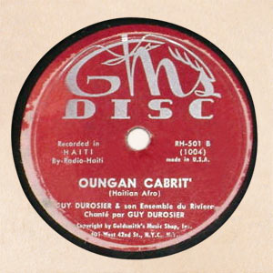 Guy Durosier - To To To To / Oungan Cabrit'